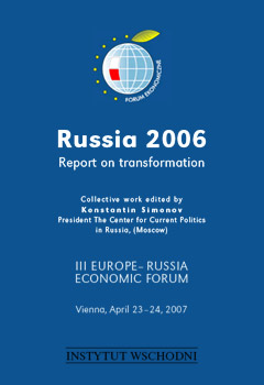 Russia 2006. Report on Transformation