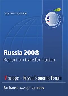 Russia 2008. Report on Transformation